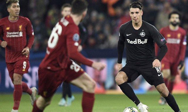 Dominik Szoboszlai in der Champions League gegen die Reds