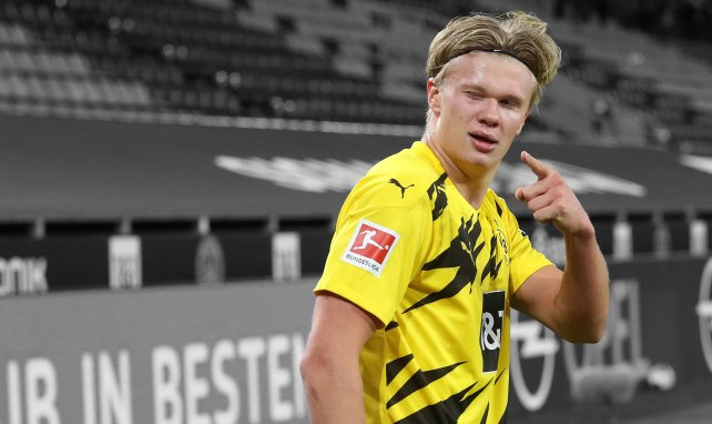Erling Haaland steht bis 2024 in Dortmund unter Vertrag