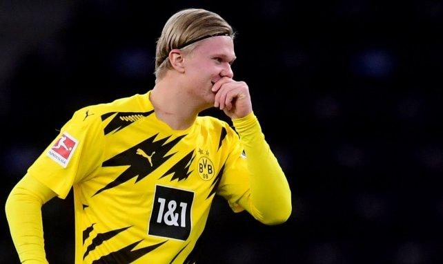 Erling Haaland im Trikot von Borussia Dortmund