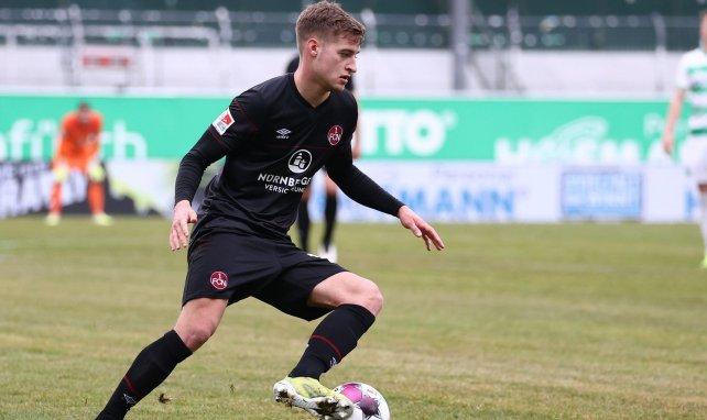 Fabian Nürnberger im Trikot des 1. FC Nürnberg