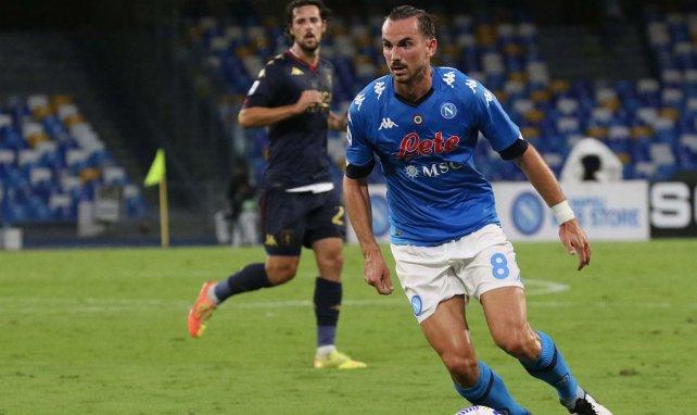 Fabián Ruiz im Einsatz für die SSC Neapel
