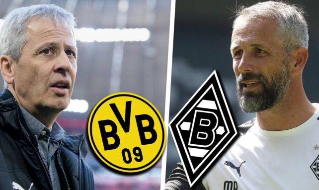 BVB vs. Gladbach: Die Aufstellungen
