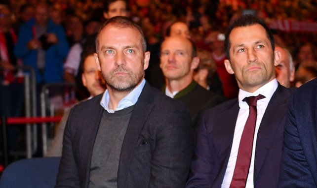 Hansi Flick und Hasan Salihamidzic planen den Kader jetzt zusammen