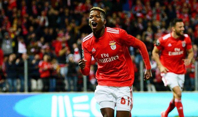 Florentino Luis jubelt für Benfica