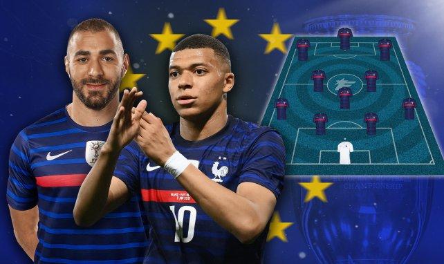 Karim Benzema und Kylian Mbappé kurbeln Frankreichs Offensive an