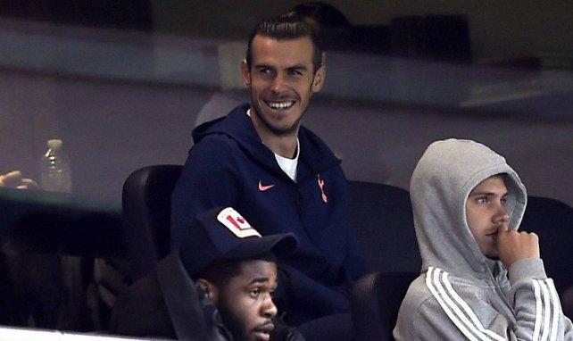 Gareth Bale auf der Spurs-Tribüne