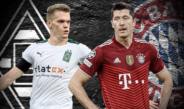 Borussia Mönchengladbach - FC Bayern: Die Aufstellungen
