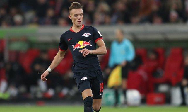 Hannes Wolf im Einsatz für Leipzig