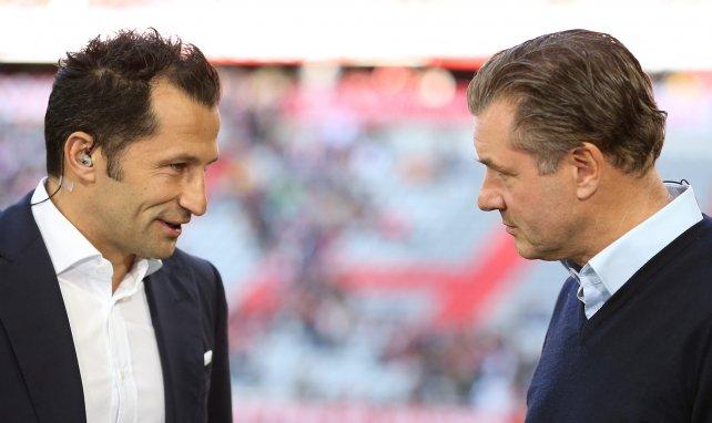 Hasan Salihamidzic (l.) und Michael Zorc
