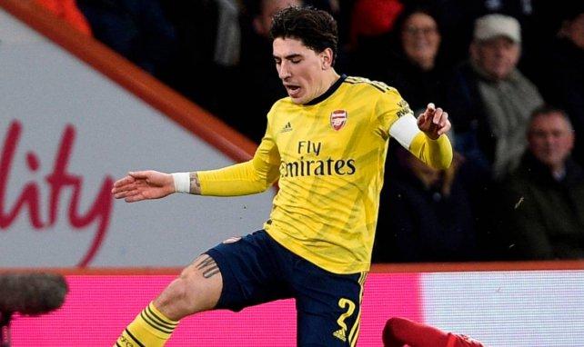 Héctor Bellerín gehört zu den dienstältesten Arsenal-Profis