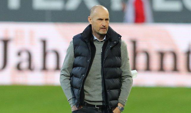 Heiko Herrlich als Trainer des FC Augsburg