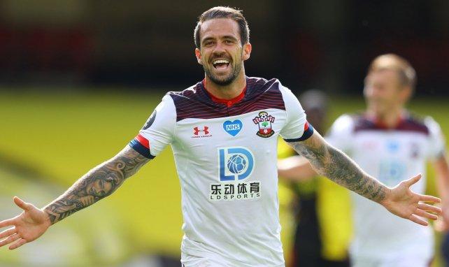 Danny Ings bejubelt einen Treffer für den FC Southampton