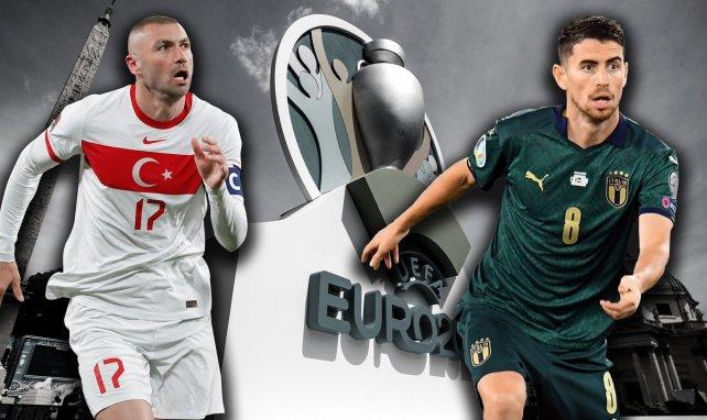 Das Eröffnungsspiel der EM zwischen der Türkei und Italien steht an