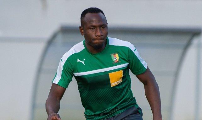 Jacques Zoua im Training mit der kamerunischen Nationalmannschaft