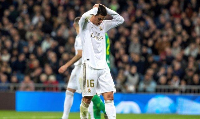 James Rodríguez hat einen schweren Stand bei Real