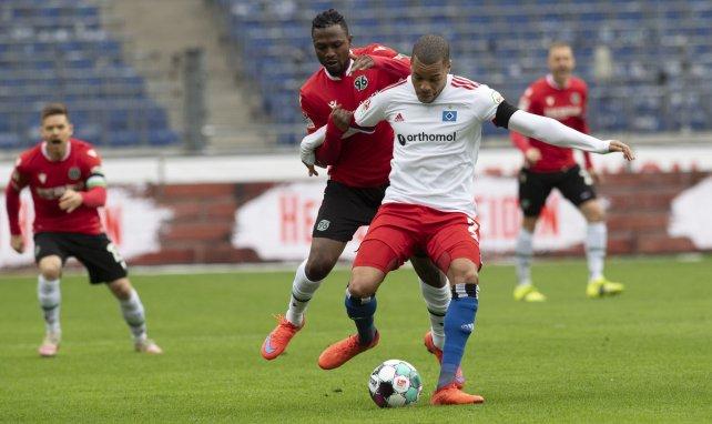Jan Gyamerah spielt seit 2019 für den Hamburger SV