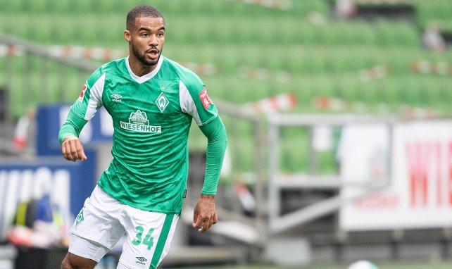 Jean-Manuel Mbom im Einsatz für den SV Werder