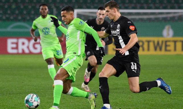 João Victor im Pokalspiel gegen Sandhausen