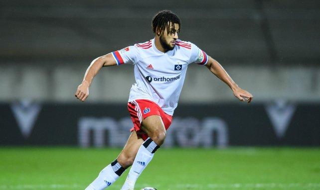Josha Vagnoman stammt aus der HSV-Jugend