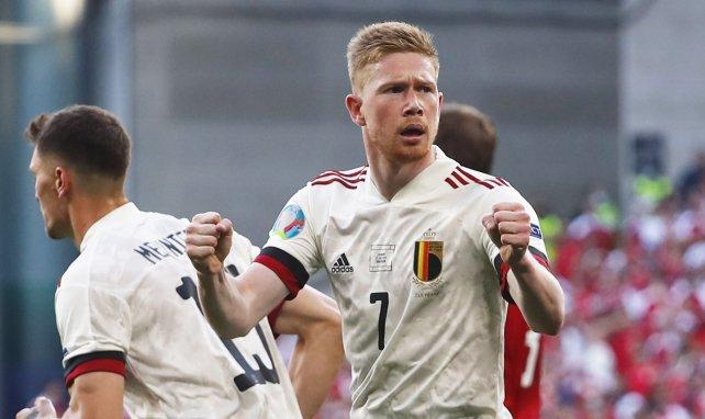 Belgien schlägt Dänemark glücklich