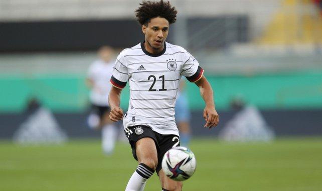 Kevin Schade im Trikot der deutschen U21.