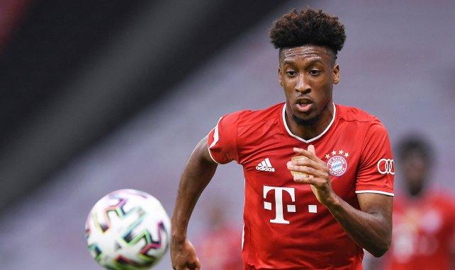 Kingsley Coman ist noch bis 2023 an den FC Bayern gebunden