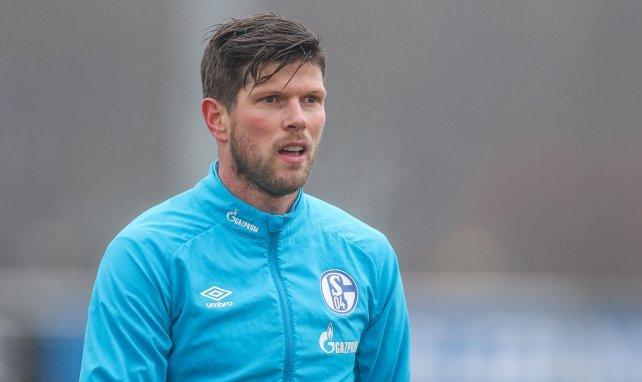 Klaas-Jan Huntelaar im Schalke-Training