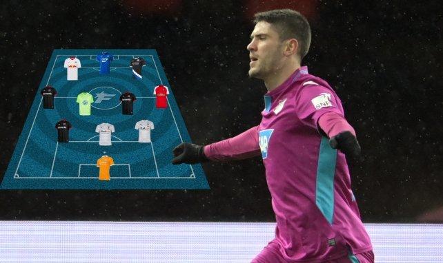 Andrej Kramaric schnürte gegen Hertha BSC den Doppelpack