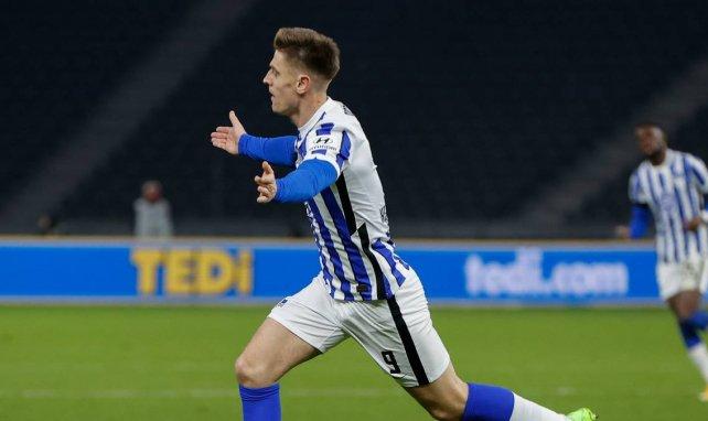 Hertha lehnt Angebot für Piatek ab