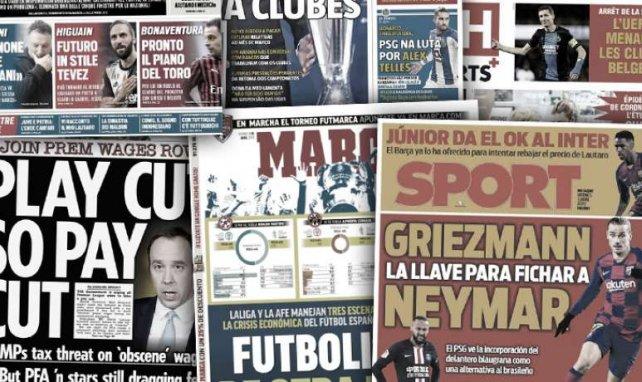 Barça bei Lautaro im Hintertreffen | Spaniens Rettungsplan