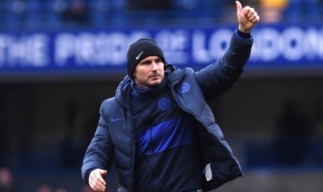 Frank Lampard trainiert die Blues