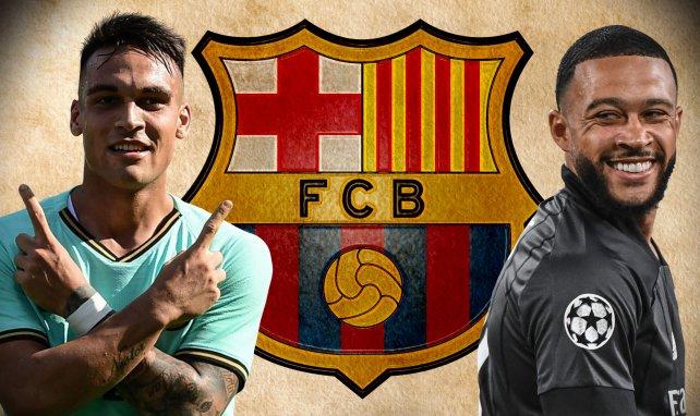 Barça hat Interesse an Lautaro und Memphis Depay