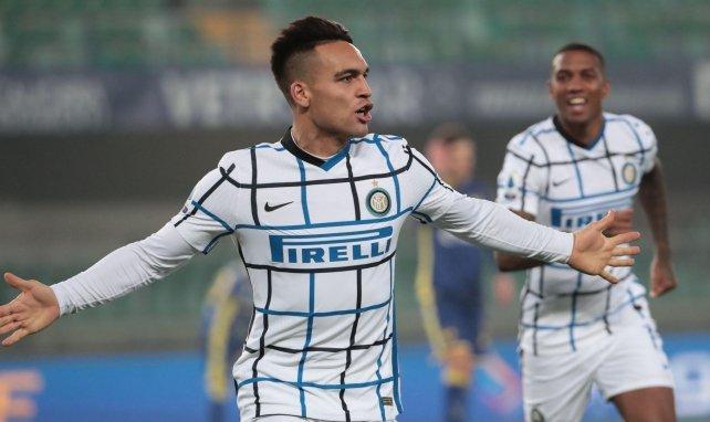 Lautaro Martinez im Trikot von Inter Mailand
