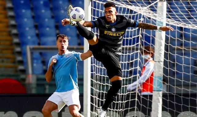 Lautaro Martínez im Einsatz für Inter Mailand