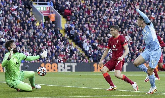 Phil Foden trifft gegen Liverpool