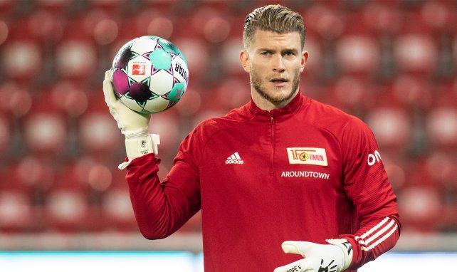 Loris Karius im Dress von Union Berlin
