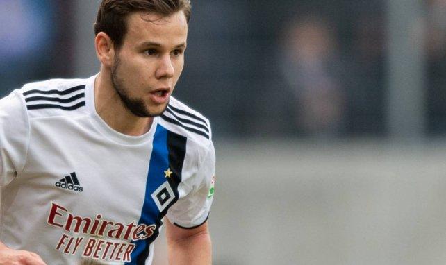 Louis Schaubs Halbjahr beim HSV verlief enttäuschend