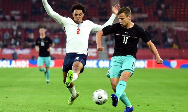 Louis Schaub im Spiel Österreich gegen England