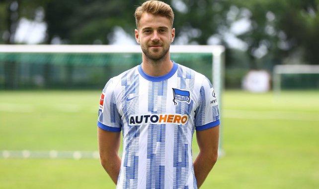 Lukas Klünter im Trikot von Hertha BSC