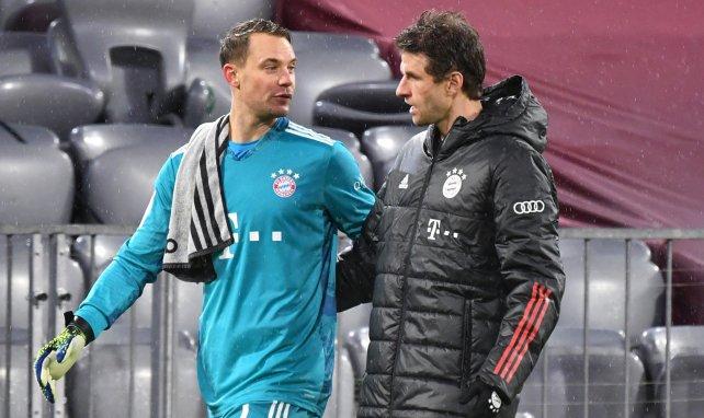 FC Bayern: Gespräche mit Neuer & Müller terminiert