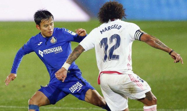Marcelo führt einen Zweikampf
