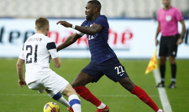 Marcus Thuram bei seinem Frankreich-Debüt gegen Finnland