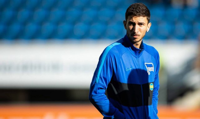 Marko Grujic im Trainingsdress von Hertha BSC