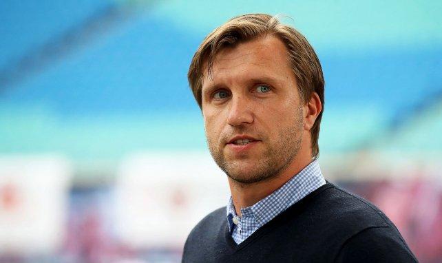 Markus Krösche ist Manager in Leipzig