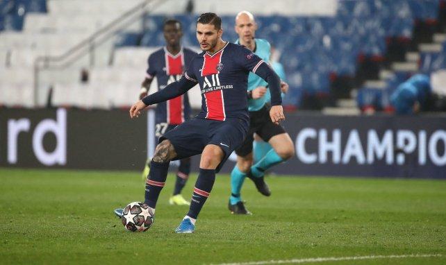 Mauro Icardi am Ball für PSG
