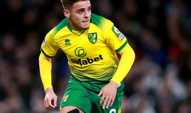 Max Aarons im Einsatz für Norwich City