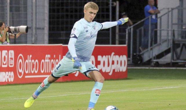 Rúnar Alex Rúnarsson hütet seit 2018 das Tor des FC Dijon