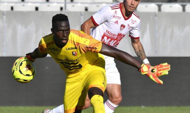 Edouard Mendy in Aktion für Stade Rennes