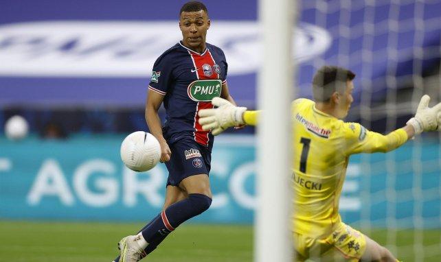 Kylian Mbappé trifft für PSG
