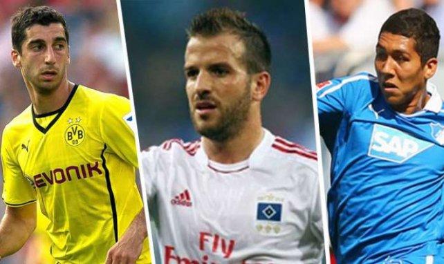Mkhitaryan, van der Vaart und Firmino stehen in der Top-Elf